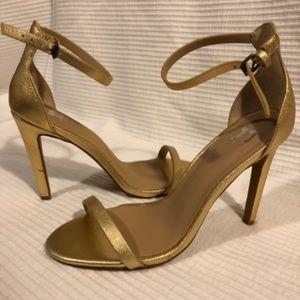 NWT - Joes Jeans Simple Gold Heels